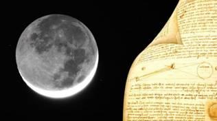Luna e Leonardo da Vinci