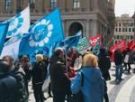 Manifestazione lavoratori Carige