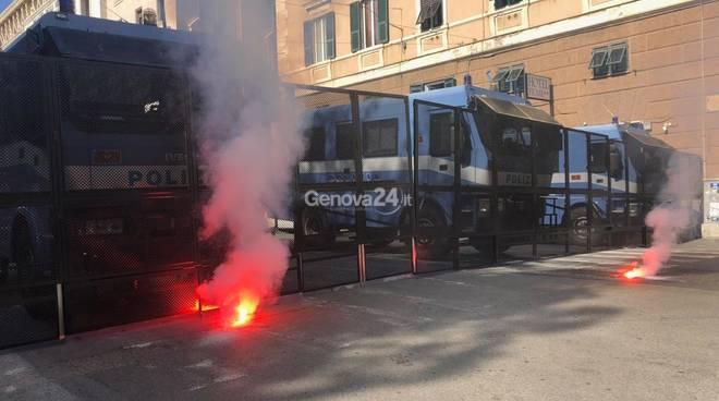 Manifestazione Venturini e antifascisti 4 maggio