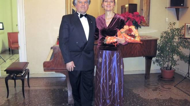 Maria Catharina Smits soprano e Fulvio Bianchi pianista