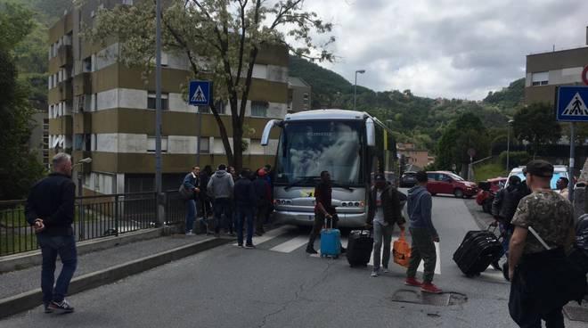 migranti struppa villa ines