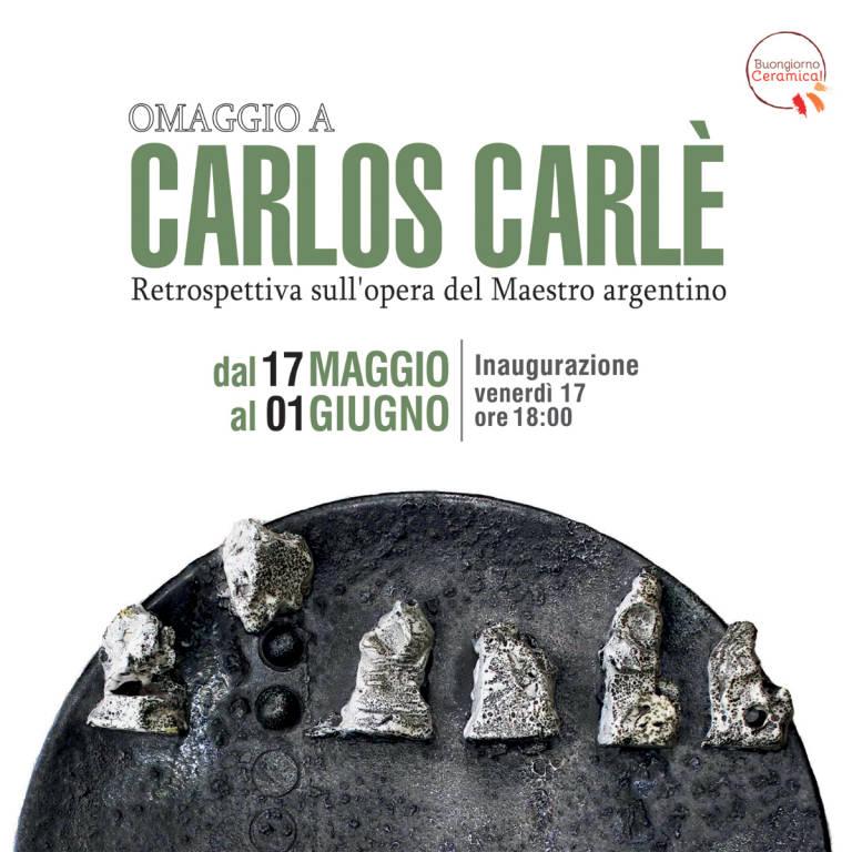 """""""Omaggio a Carlos Carlè"""" mostra d'arte Albissola Marina"""