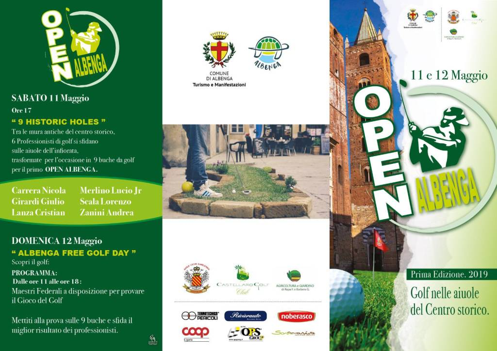 "Open Golf ""Fior d'Albenga"" 2019"