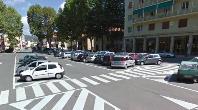 Piazza Caravadossi Carcare