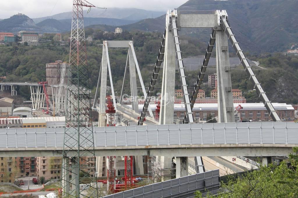 ponte morandi cantiere
