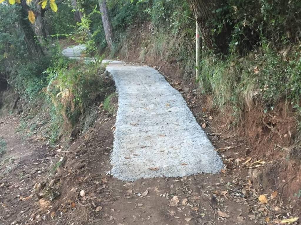 portofino cemento sentiero gave