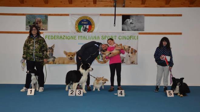 Quiliano, gara di Rally-O al Centro Cinofilo Four Dogs