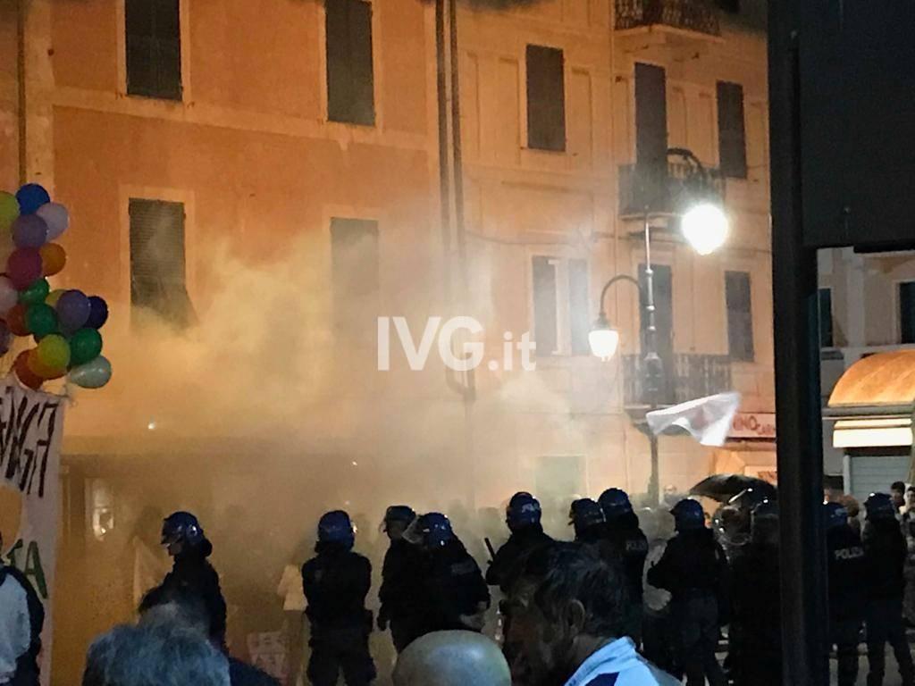Salvini ad Albenga, contromanifestazione di Anpi
