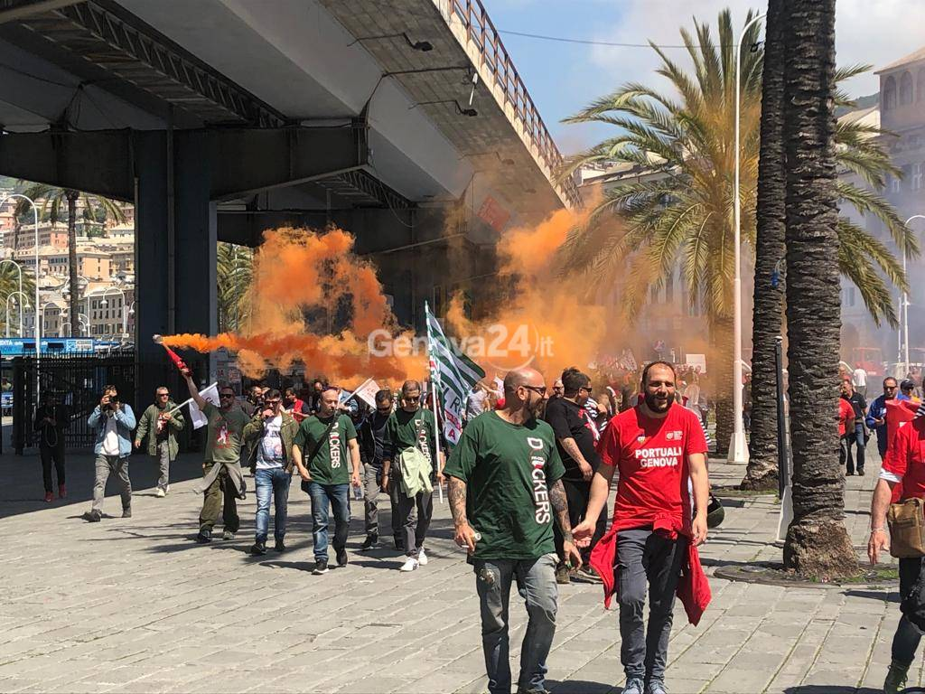 sciopero portuali