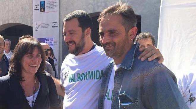 Paolo Ardenti Sonia Viale Matteo Salvini