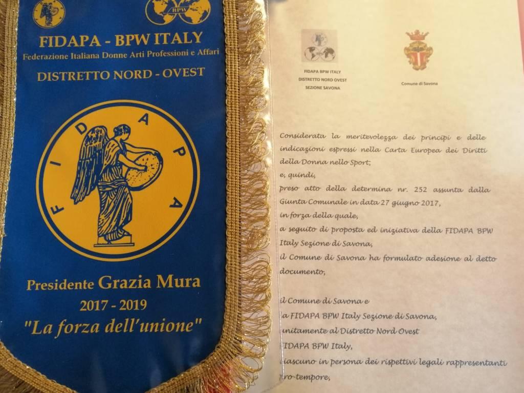 Carta Diritti Donne Sport Savona