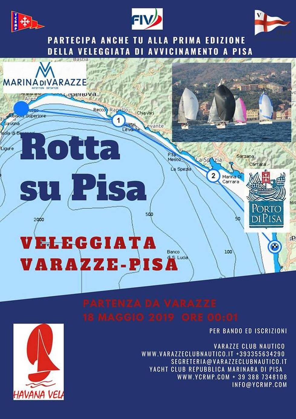 Veleggiata - Rotta su Pisa