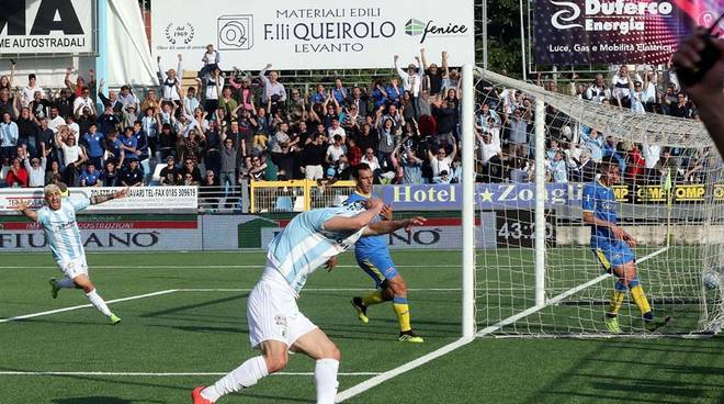 Virtus Entella promossa in Serie B