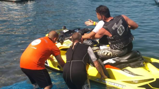 A Savona la Jet Ski Therapy con Fabio Incorvaia