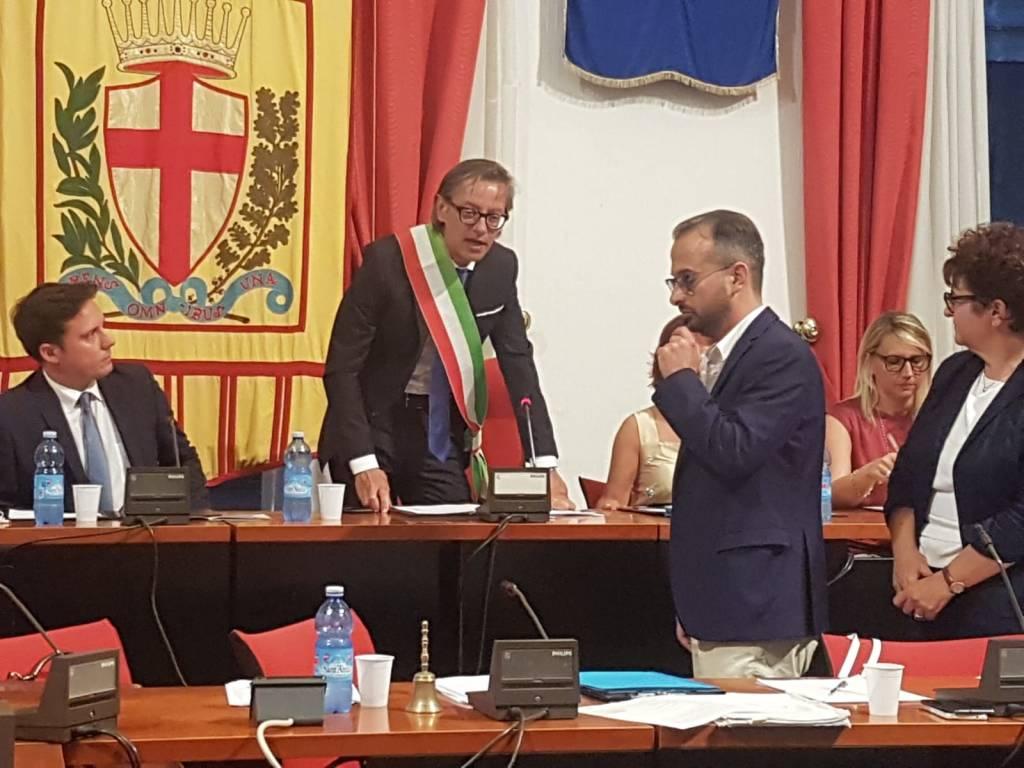 albenga consiglio comunale Tomatis