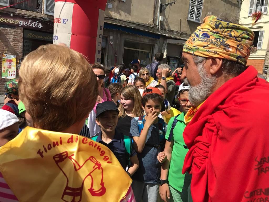 """Albenga, dopo 59 giorni di pellegrinaggio Sergio Giusto è tornato a """"casa"""""""