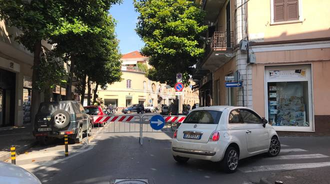 Albenga, lavori sull'acquedotto: modifica alla viabilità
