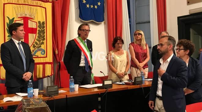 Albenga, primo consiglio comunale dell'era Tomatis