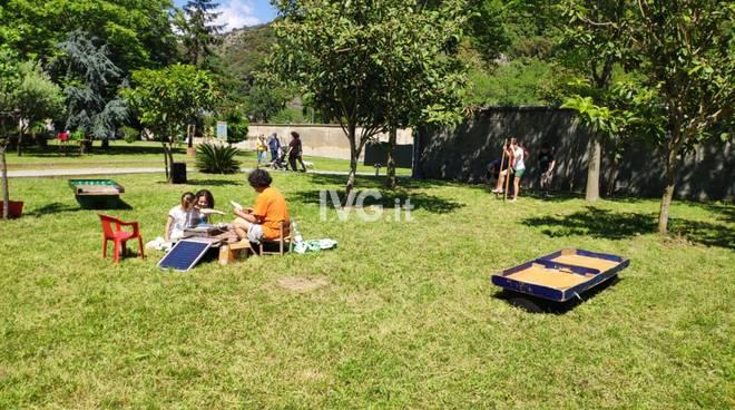 Albisola, inaugurato un nuovo parco pubblico