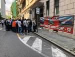 Bombardier protesta inail