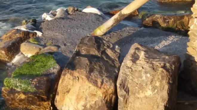 borgio scarico a mare