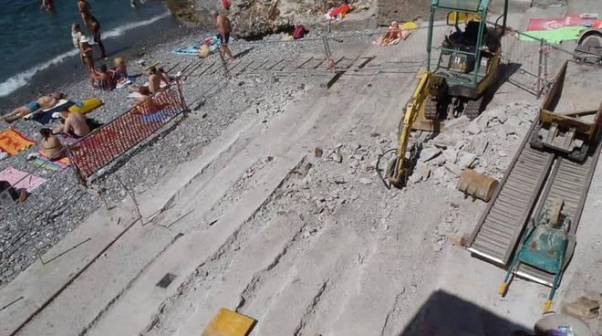 Cantieri spiaggia Capolungo