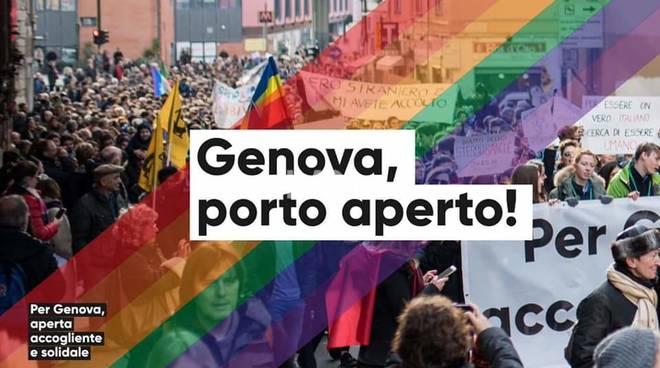 Arci e CGIL Liguria: Genova, porto aperto!