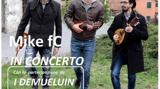 Mike fC in Concerto a Casella - con la partecipazione dei Demueluin