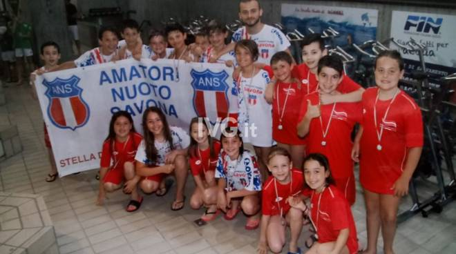 A Genova gli Esordienti B rendono orgogliosa L\'Amatori Nuoto Savona