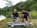 Catture da record ai laghi del Dolmen