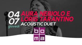 Cena in jazz al Boma di Varazze- Aura Nebiolo e Loris Tarantino