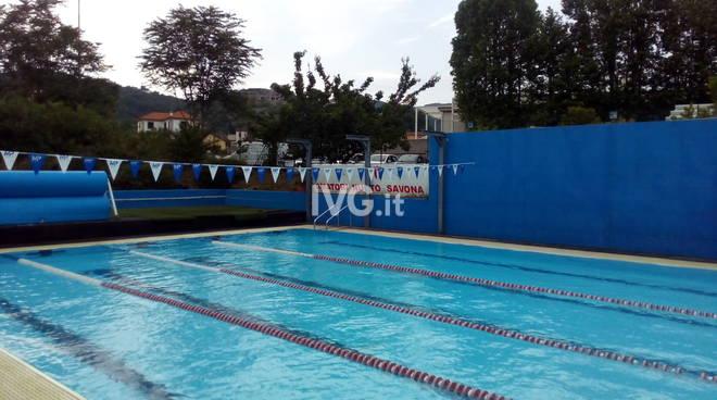 Legino : libera balneazione no stop alle Piscine Amatori Nuoto Savona