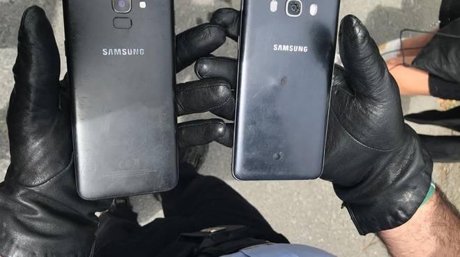 cellulari polizia locale municipale furto telefonini