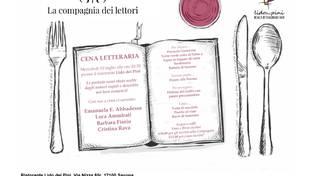 Cena letteraria con La compagnia dei lettori