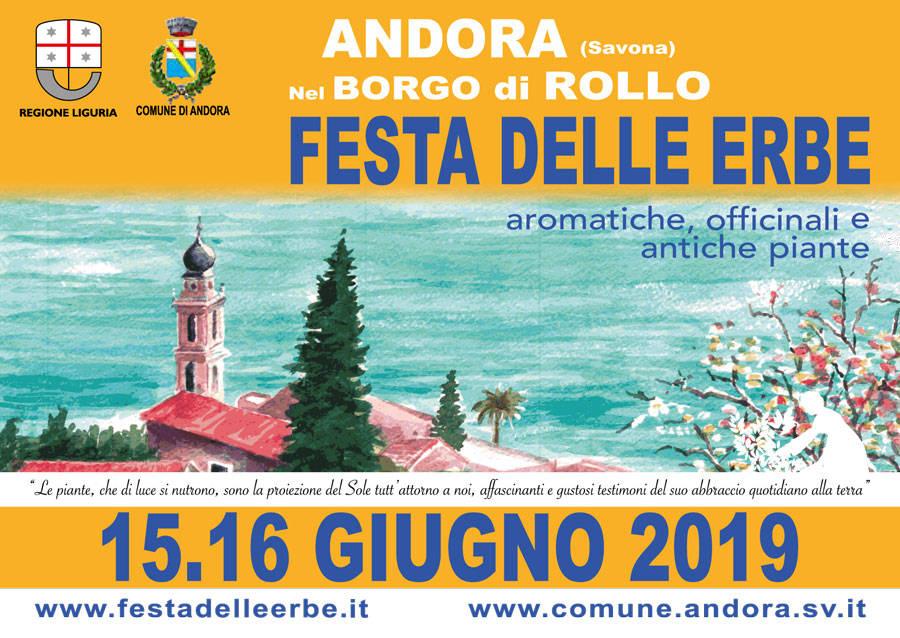Festa delle Erbe Aromatiche, Officinali e Antiche Piante ad Andora