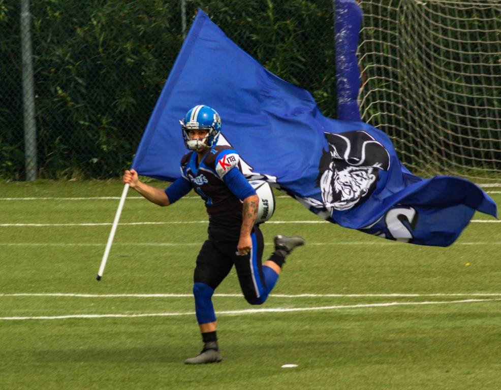Football americano: Pirates contro Predatori