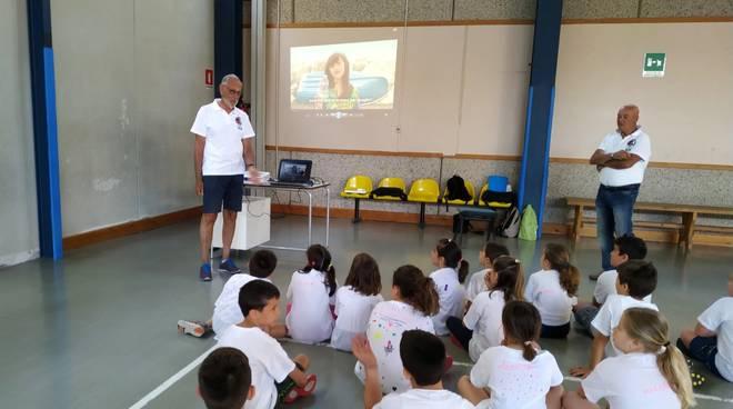 Gruppo Arti Marinare Assonautica e alunni scuole