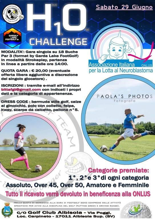"""H10 Challenge"" Torneo di footgolf ad Albisola"