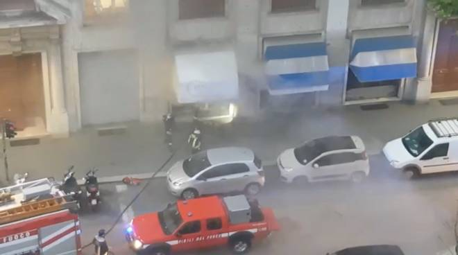 Incendio via Cecchi
