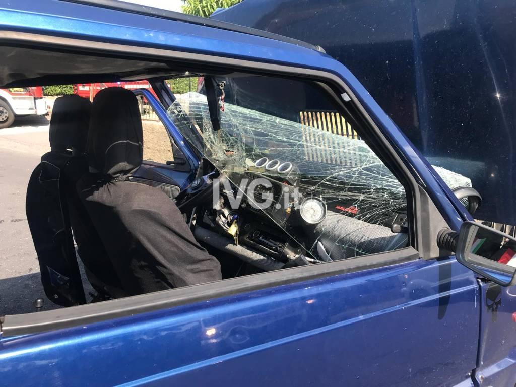 Incidente stradale a Leca d'Albenga