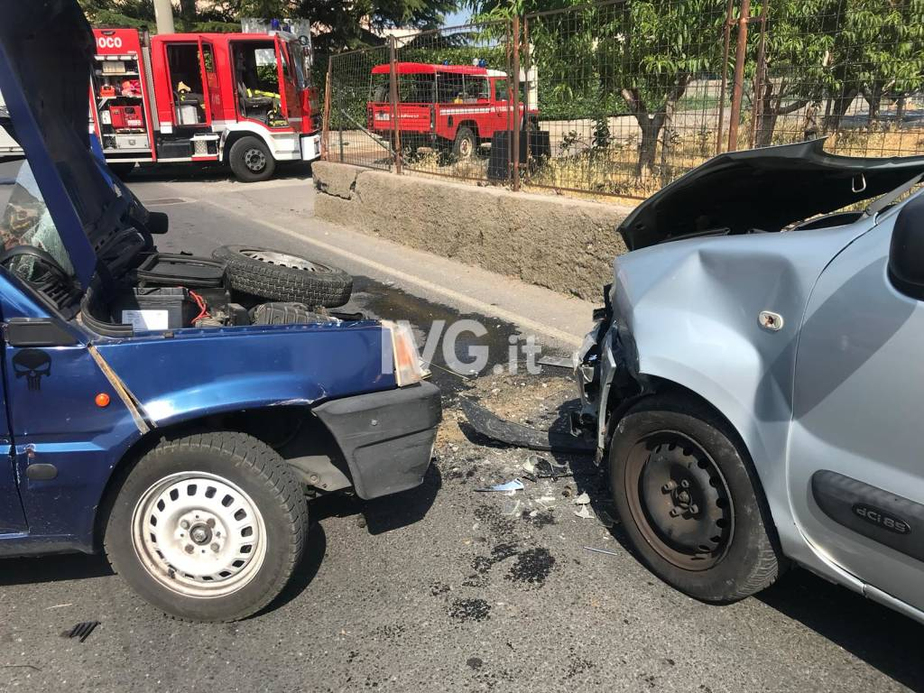 Incidente stradale a Leca d'Albenga