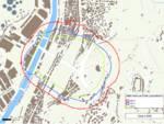 Mappa e civici evacuazione esplosione moncone est