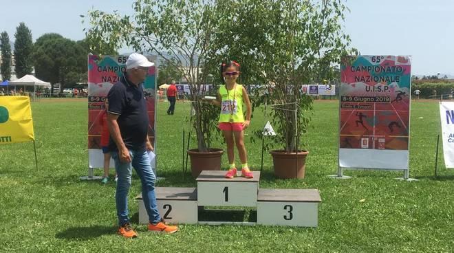 Meloni vince il titolo Italiano Uisp 2019