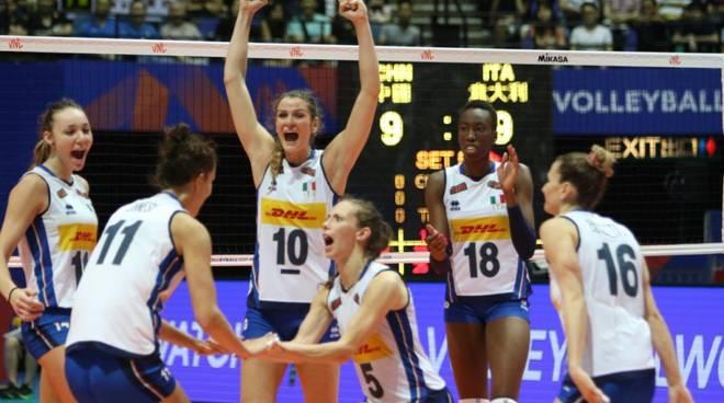 nazionale volley femminile