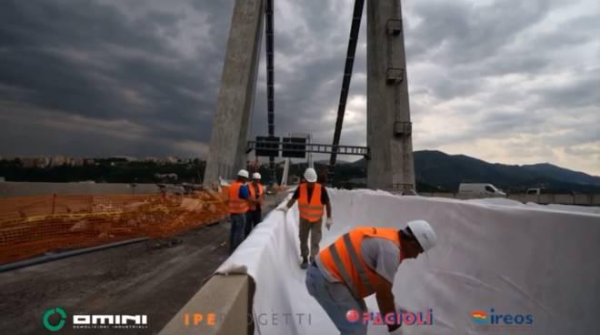 Opere mitigazione ponte morandi