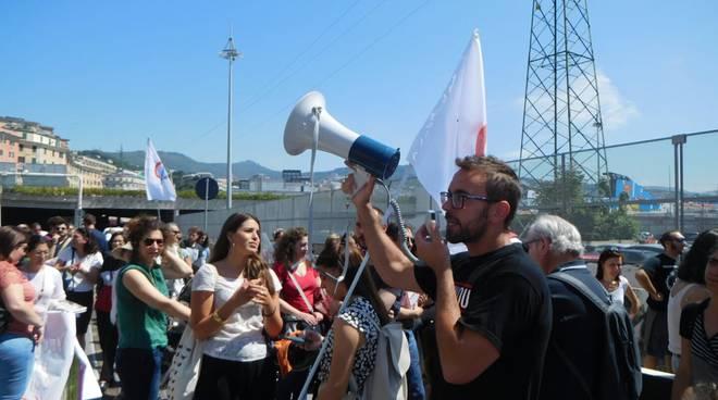 Presidio solidarietà navi miganti