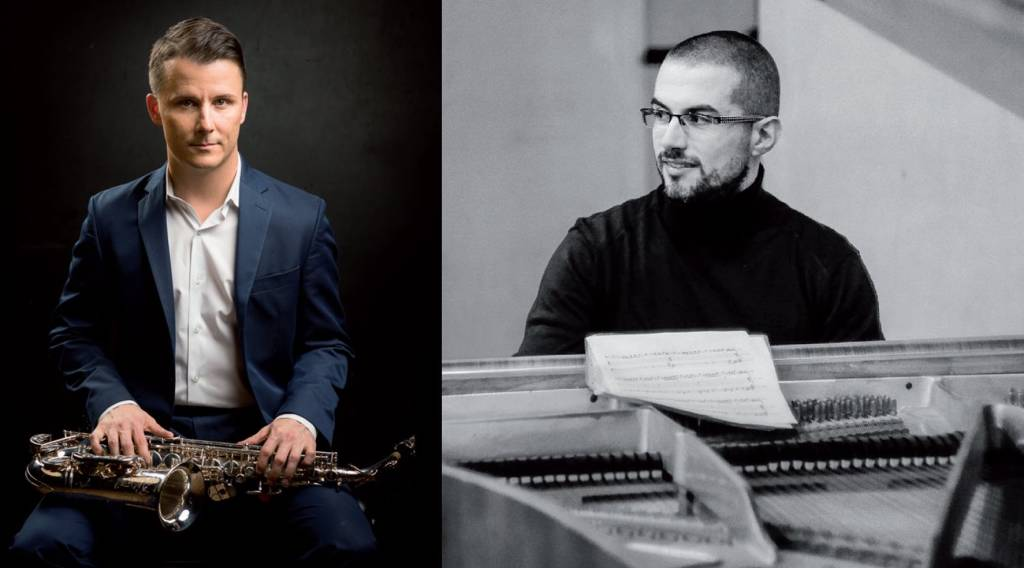 Preston Duncan sassofonista e Federico Gerini pianista