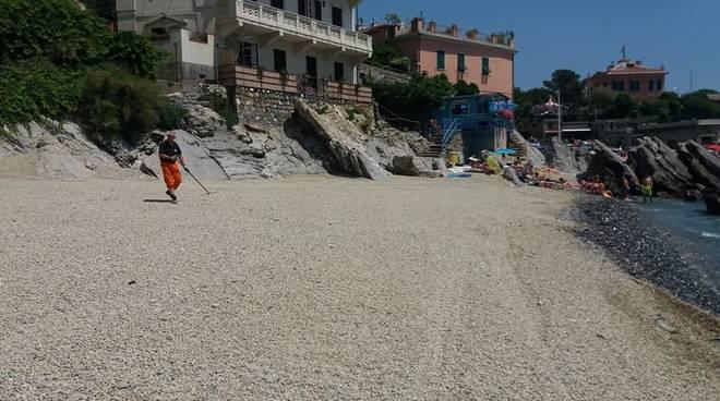 quinto spiaggia ripascimento
