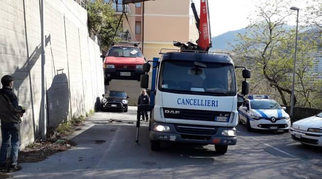 rimozione veicoli abbandonati