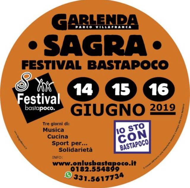 Sagra Festival Bastapoco a Garlenda